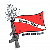 Divers Mast Scuba and Guns